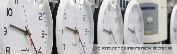 Le savoir-faire et l'expertise des horloges Bodet reconnus auprès des grands comptes